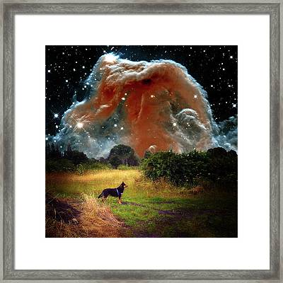 Framed Print featuring the photograph Aspiring Lunar Rover Outer Space Image by Bill Swartwout Fine Art Photography