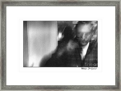 Framed Print featuring the photograph At The Cafe by Patricia Youngquist