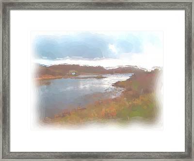Atlantic View Framed Print