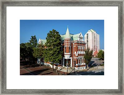 Augusta Cotton Exchange - Augusta Ga Framed Print