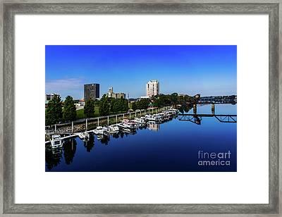 Augusta Ga Savannah River 2 Framed Print