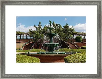 Augusta Riverwalk - Augusta Ga Framed Print