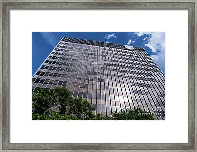 Augusta University Building 1 Framed Print