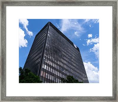 Augusta University Building 2 Framed Print