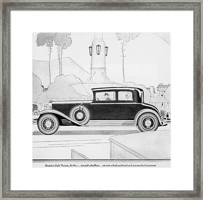 Automobile Framed Print by Fotosearch