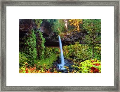 Autumn At North Falls Framed Print