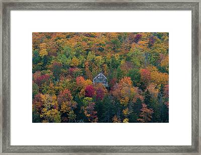 Autumn In Maine Framed Print