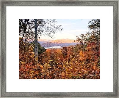 Framed Print featuring the photograph Autumn Magic by Rachel Hannah