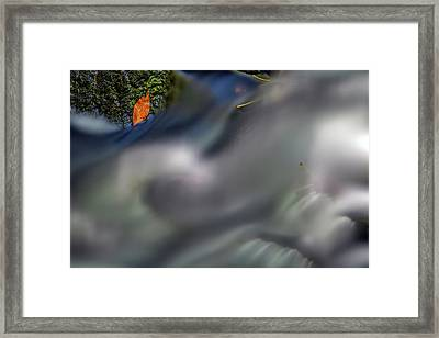 Framed Print featuring the photograph Autumn Stream by Rick Berk