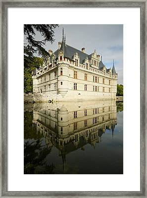 Framed Print featuring the photograph Azay-le-rideau by Stephen Taylor