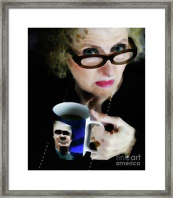 Babes For Trump  Framed Print by Steven Digman