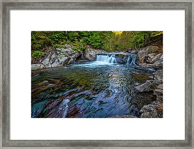 Framed Print featuring the photograph Baby Fall Pool by Andy Crawford