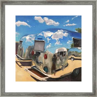 Baby's At The Polisher's Framed Print