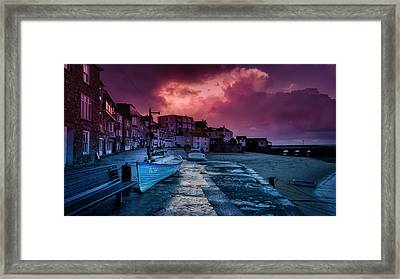 Back From The Shop Framed Print