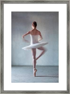 Back Of Ballerina Spinning