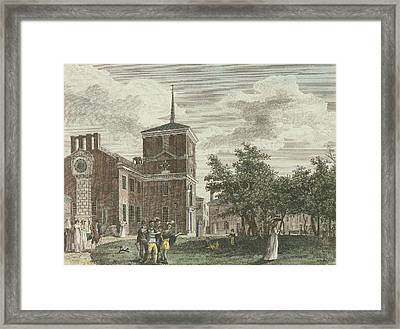 Back Of State House Framed Print