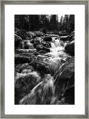 Framed Print featuring the photograph Baerguntbach, Kleinwalserta by Andreas Levi