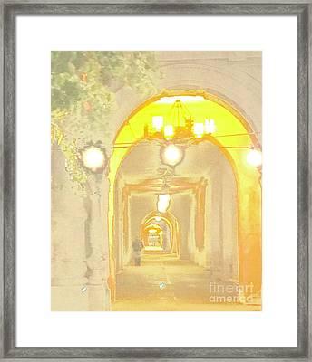 Balboa Framed Print