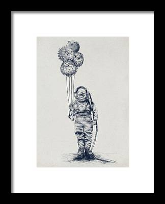 Pen And Ink Framed Prints