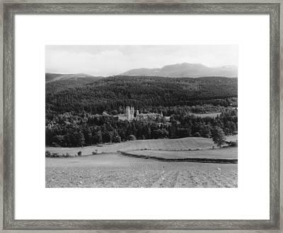 Balmoral Castle Framed Print by Fox Photos