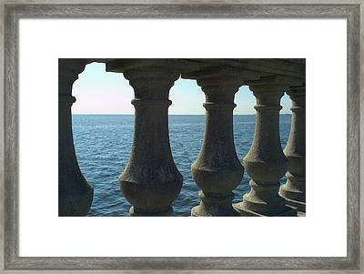 Balustrade Framed Print by Tbd