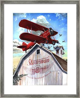 Barn Stormer - Customizeable Framed Print
