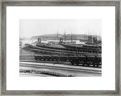 Barry Rail Framed Print by Hulton Archive