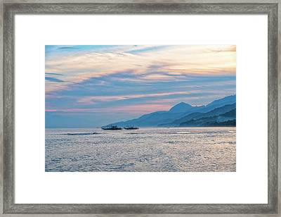 Batangas Sunset Framed Print
