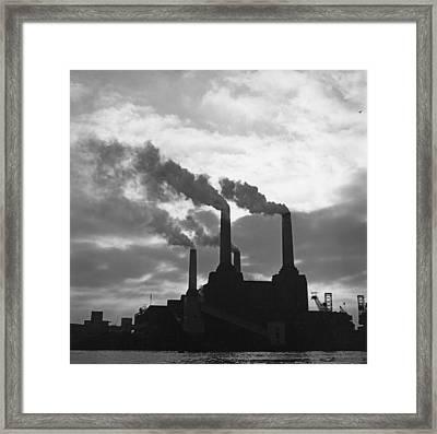 Battersea Power Station Framed Print by George Freston