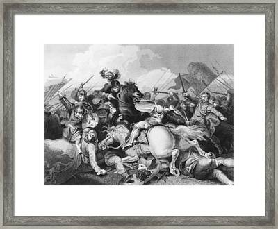 Battle Of Bosworth Field Framed Print by Hulton Archive