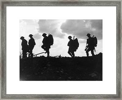 Battle Of Broodseinde Framed Print by Fotosearch
