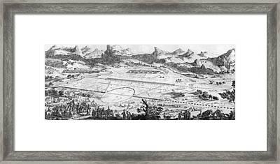 Battle Of Cannae Framed Print by Henry Guttmann Collection