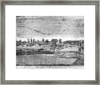 Battle Of Concord Framed Print by Fotosearch