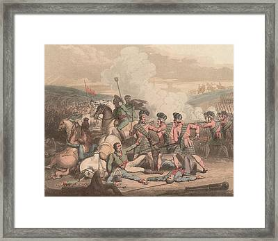 Battle Of Vimeiro Framed Print by Hulton Archive