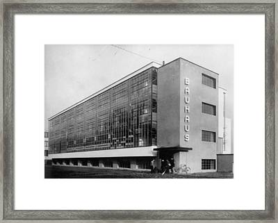 Bauhaus Framed Print by General Photographic Agency
