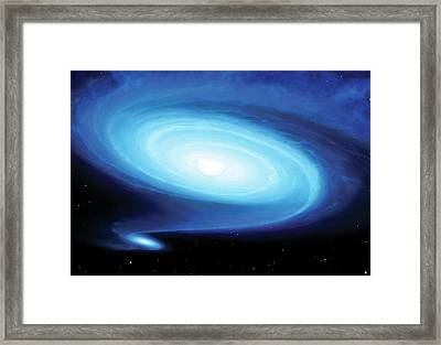 Be X-ray Binary System Framed Print