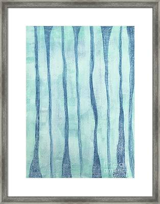 Beach Collection Beach Water Lines 2 Framed Print