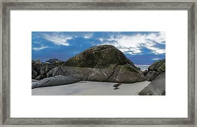 Beach Details Framed Print