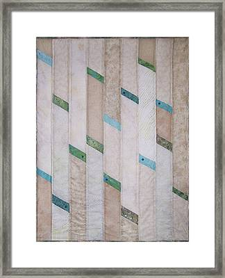 Beach Glass Framed Print