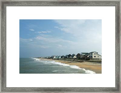 Beach Houses Framed Print by Jpecha