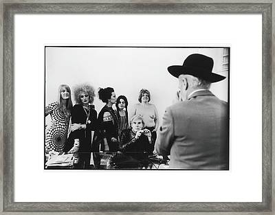 Beaton Photographs Warhol & Company Framed Print by Fred W. McDarrah