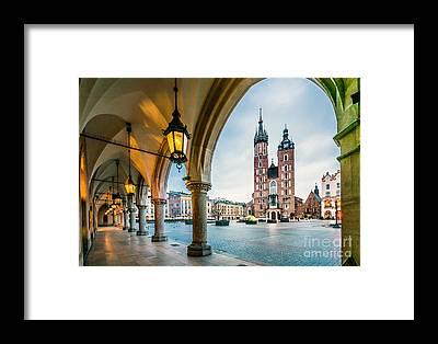 Main Street Framed Prints