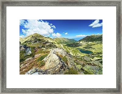Beautiful Landscape Of Pirin Mountain Framed Print