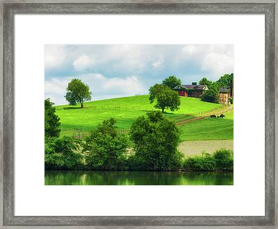 Beautiful Tennessee Countryside Framed Print