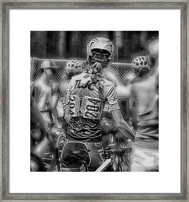 Beauty At 204 Framed Print by Steven Digman