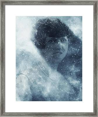 Beauty In The Snow Framed Print