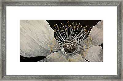 Becoming Framed Print