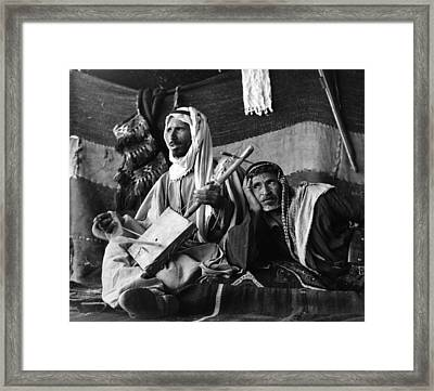 Bedouin Arabs Framed Print by Three Lions