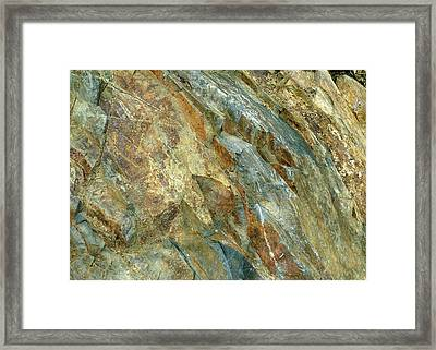 Framed Print featuring the photograph Bedrock Of Ages 5 by Lynda Lehmann