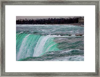 Before The Falls Framed Print